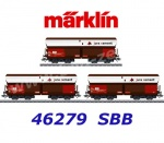 "46279 Marklin Set of 3 type Fals hopper cars ""Jura Cement"""