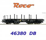 46380 Roco Heavy Duty Flat Wagon Type Rlmmp of the DB