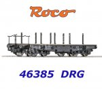 "46385 Roco Heavy duty flat wagon type SSy ""Köln"", of the DRG"