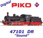 47101 Piko TT Steam locomotive class 55 of the DR - sound