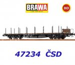 47234 Brawa Stake wagon type Pae of the CSD