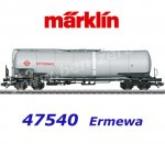 47540 Marklin Tank Car Type Zans of the Ermewa