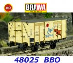 "48025 Brawa Covered Freight Car ""Zipfer Osterbock"" of the BBÖ"