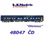 "48047 LS Models Sleeping Car Type WLABmz ""Olomouc"" of the CD"
