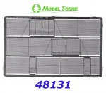 48131 Model Scene Chain mesh gate and fences 2 m
