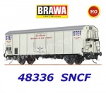"48336 Brawa Refrigerator Car Type UIC Standard 1 ""STEF"" of the SNCF"