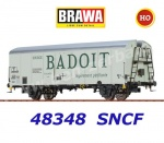 "48348 Brawa Refrigerated Car Type Hlv ""EVIAN & BADOIT"" of the SNCF"