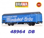 "48964 Brawa Sliding Wall Car ""Kulmbacher"" of the DB"