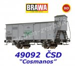 "49092 Brawa  Boxcar Type Gg ""Cosmanos"" of the CSD"