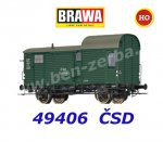 49406 Brawa Caboose type D of the CSD