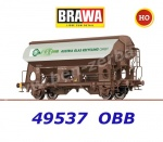 "49537 Brawa Covered Hopper Car Type Tds ""Austria Glas Recycling"" of the  ÖBB"