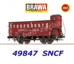 "49847 Brawa Beer car Hlf ""Kronenbourg"" of the SNCF"