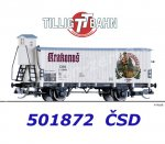 "501872 Tillig TT Refrigerator Beer Wagon ""Krakonos"" of the CSD"