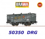 "50350 Brawa Boxcar Type Gh ""Moser-Roth Schokolade"" of the DRG"