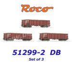 51299-2 Roco  Set of 3 Gondolas with Load of Beets  of the DB