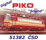 "51382 Piko Electric Locomotive Class S499 ""Laminátka"" ČSD - Sound"