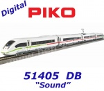 51405 Piko 4-pcs Electric multiple unit ICE 4 BR 412 of the DB - Sound