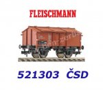 521303 Fleischmann Gondola with hinged roof hatches type Zu 6, CSD