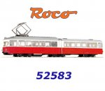 52583 Roco Tram 6-axle Red/white livery