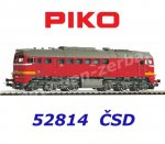 52814 Piko Diesel Locomotive Class T679.1 of the CSD
