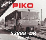 52888 Piko Diesel multiple unit BR 171 + VB, of the DR - Sound