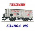 "534804 Fleischmann Refrigerated Beer wagon ""BROUWERIJ ORANJEBOOM"" of the NS"