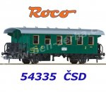 54335 Roco 2nd class wagon of the CSD
