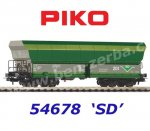 54678 Piko Self Unloading Hopper Car Falns, CZ