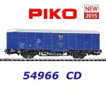 54966 Piko Boxcar Ceska Posta of the CD