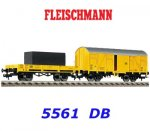 5561 Fleischmann Track cleaning wagon set of the DB
