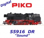 55916 Piko Steam Locomotive Class BR 83.10 of the DR - Sound