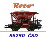 56250 Roco Talbot ballast wagon of the CSD