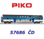 57686 Piko Double-decker Passenger Coach Type Bdmteeo294 of the CD