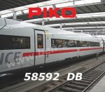 58592 Piko  Extension Car ICE 4 / BR 412 of the DB