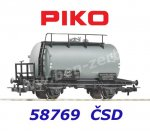 58769 Piko Tank car of the CSD