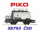 58793 Piko Tank wagon  'Spolchemie' of the CSD
