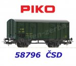 58796 Piko Closed box car class SpV of the CSD