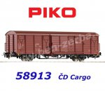 58913 Piko Box Car Type Gbgkks of the CD-Cargo