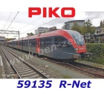 "59135 Piko Electric multiple unit GTW 2/6 ""Stadler"" ,R-Net QBuzz"
