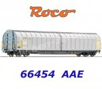 66454 Roco Sliding Wall Box Car of the AAE