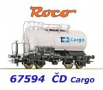 67594 Roco Tank Wagon, CD Cargo