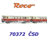 70372B Roco Diesel railcar class M152.0047 and caboose Blm 075-1 of the CSD