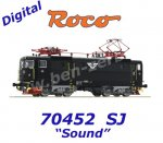 70452 Roco Electric Locomotive Class Rc3 of the SJ - Sound