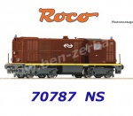 70787 Roco Diesel locomotive class 2400, of the NS