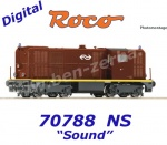 70788 Roco Diesel locomotive class 2400, of the NS - Sound