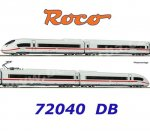 72040 Roco  4-pcs  Electric railcar ICE 3 407 006-1 of the DB