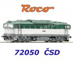 72050 Roco Diesel locomotive class T478.3 of the CSD