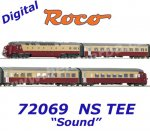 72069 Roco TEE Diesel railcar DE 4 of the NS, Sound