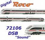 72106 Roco  Diesel multiple unit class 605 IC, DSB - Sound