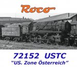 "72152 AKCE Roco Steam locomotive class S 160, USTC ""US. Zone Österreich"""